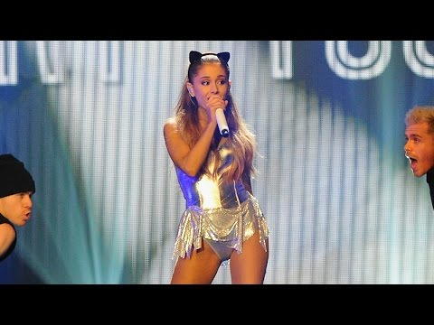 "Ariana Grande Raps Nicki Minaj's ""Bang Bang' Verse at BBC Radio 1 Teen Awards!"