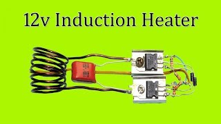 Induction heater 12v Dc