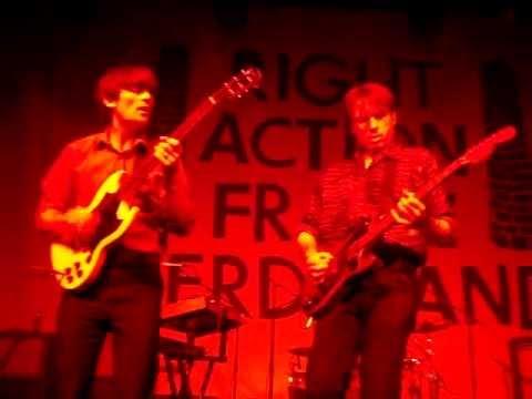 Franz Ferdinand - The Blackpool Illuminati - Live @ The Fonda Theatre - 4-16-13