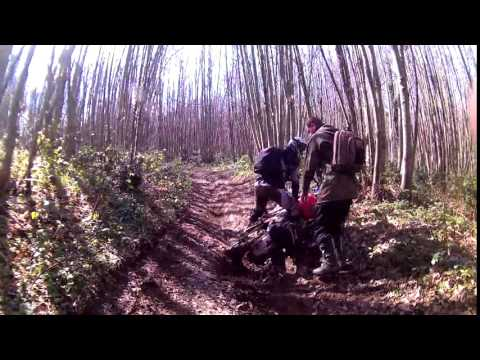 africa twin crash