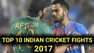 Indian cricket teams top ten fight's