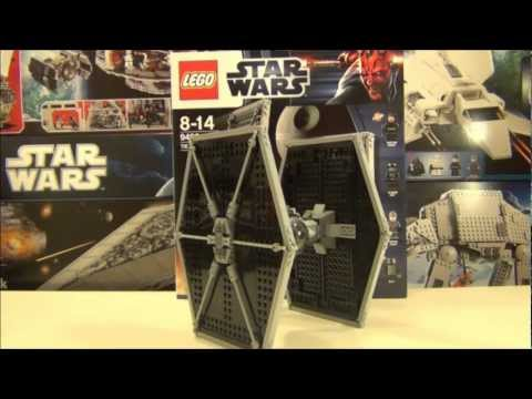 Lego Star Wars 2012 set 9492 Tie Fighter review.