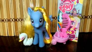 MLP:FIM Обзор/Review Lily Blossom & Pinkie  Pie + 2000 subs:)