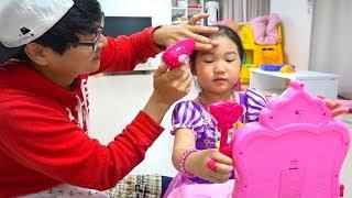 콩순이 화장대 장난감으로 드레스 입고 메이크업 놀이도 해봐요~ Boram Pretend Play Dress Up & Kids Make Up Toys