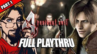 RESIDENT EVIL 4 (HD Project, Professional): 12 Hr. Playthru - Part 1 w/Maximilian