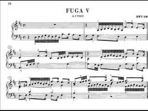 Бах Иоганн Себастьян - Bwv 850 - Prelude In D Major