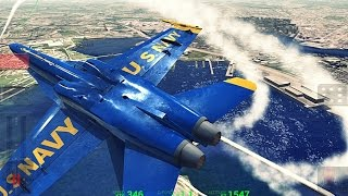 Blue Angels Aerobatic SIM - Android Gameplay HD