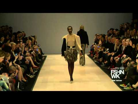 PINK TARTAN - WORLD MASTERCARD FASHION WEEK FALL 2012 COLLECTIONS