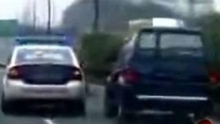 VIDEO AKSI POLISI - Kejar - Kejaran di jalan Tol