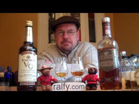 whisky review 108 - Seagram's VO & Wisers (small batch)