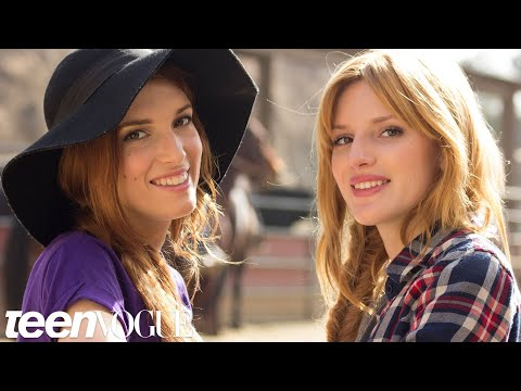 Horseback Riding With Bella Thorne and Her Sister, Dani -- Besties -- Teen Vogue