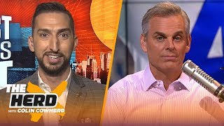Nick Wright: Baker's upside is higher than Watson & Dak is at best the 16th best QB | NFL | THE HERD