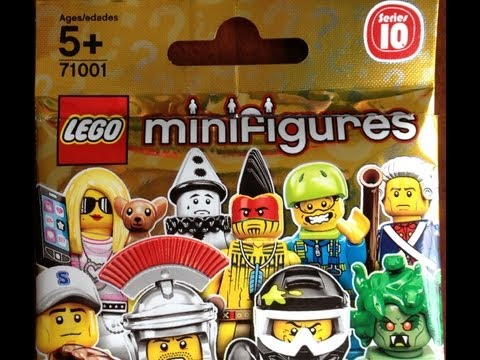 LEGO Series 10 Minifigures - Opening 16 Random Packs - Mr. Gold?