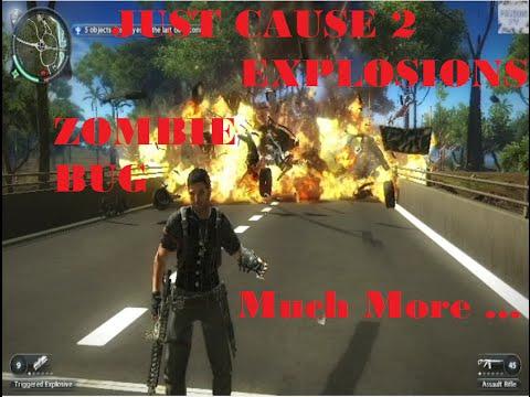 Just Cause 2 - Kills, Hijackings, Stunts, ZOMBIE BUG!!!!!!