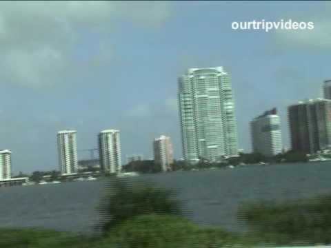 Miami(City, Beach, Biscayne boat, Everglades , Temples) - Part 1 Video