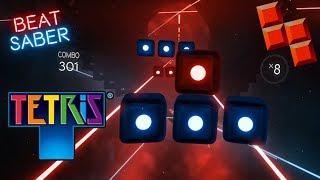 Tetris Trap Remix ⚔ Beat Saber Custom Song