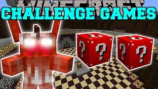 Minecraft: GREMLINS CHALLENGE GAMES - Lucky Block Mod - Modded Mini-Game