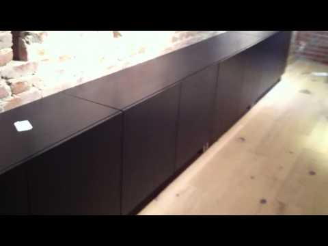 ikea besta shelf unit assembly service video in DC MD VA by Furniture assembly experts LLC