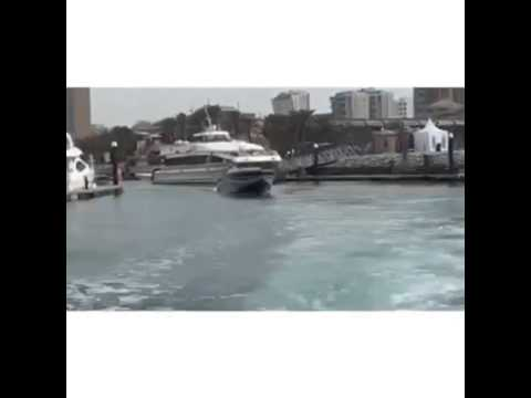 Kuwait extreme power boat run