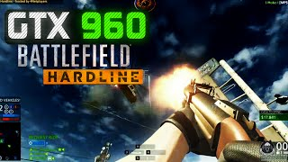 """GTX 960"" BATTLEFIELD HARDLINE MULTIPLAYER  GAMEPLAY(MAXED OUT)720p!!"