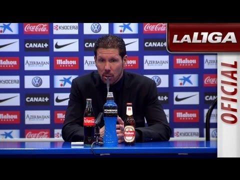 Rueda de Prensa de Simeone tras el Atlético de Madrid (1-0) RCD Espanyol - HD