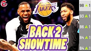 SHOWTIME IS BACK?! AD to the Lakers! Los Angeles Lakers Rebuild! NBA 2K19