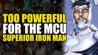 Too Powerful For Marvel Movies: Superior Iron Man With The Infinity Gauntlet
