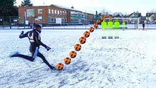 INSANE SNOW FREEKICKS!!!