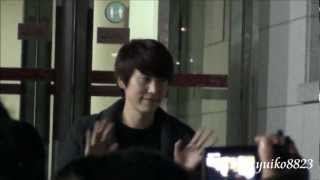 130103 Kyuhyun after Catch Me If You Can