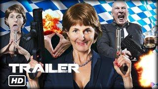 Angie In Heat - Official Trailer #1 (2017) // Angela Merkel Action Movie