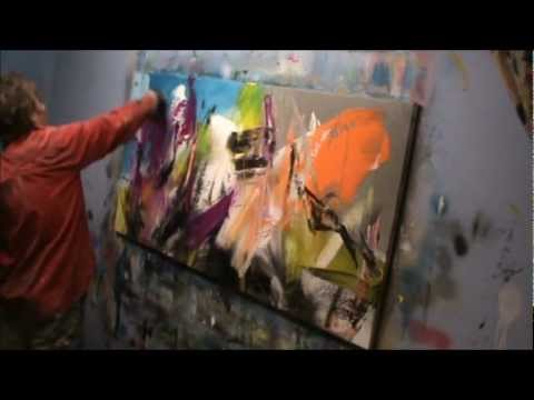 How To Do An Abstract Painting With Acrylics