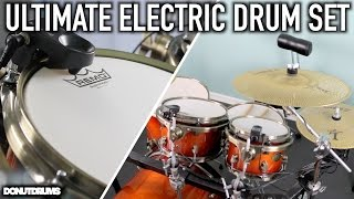ULTIMATE ELECTRIC DRUM SET! (DonutDrums)