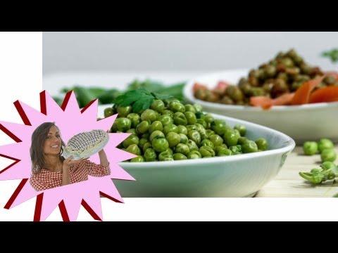 Pulire e Cuocere i Piselli: Sugo di Piselli – Le Ricette di Alice