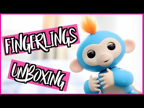 WowWee FINGERLINGS TOY MONKEY UNBOXING   HONEST REVIEW