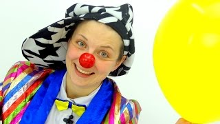 Videos for kids. Le Clown and balloons.