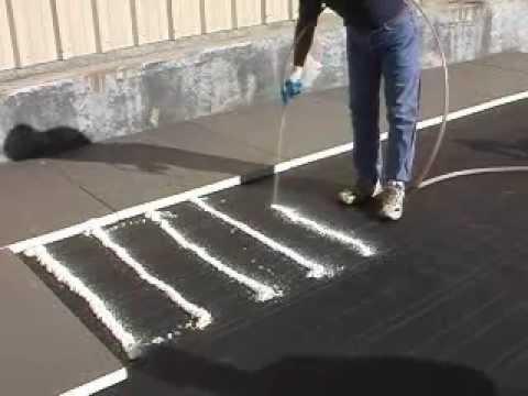 3m Cr 20 Polyurethane Spray Foam Application Video