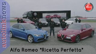 """Alfa Romeo """"ricetta perfetta""""   le News di Autolink"""