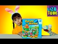 Веселая ИГРА челлендж Кролики и МОРКОВКА Лиза и Червяк ШОУ Funny Bunny Game Lizatube mp3