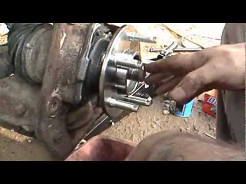 How To Install Rotors Wheel Bearings On Ford Ranger 2008