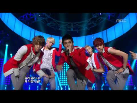 Teen Top - Be Ma Girl, 틴탑 - 나랑 사귈래, Music Core 20120825 video