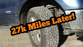 Goodyear Trailrunner A/T 1 yr Review! 27k Miles!