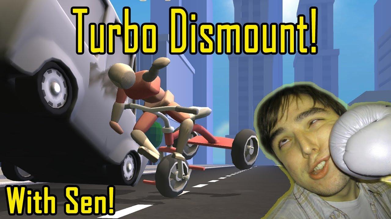 turbo dismount best moments must watch w sen youtube
