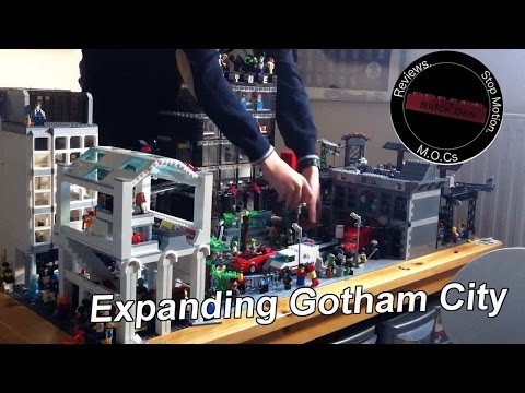 Expanding My Custom Lego Gotham City!