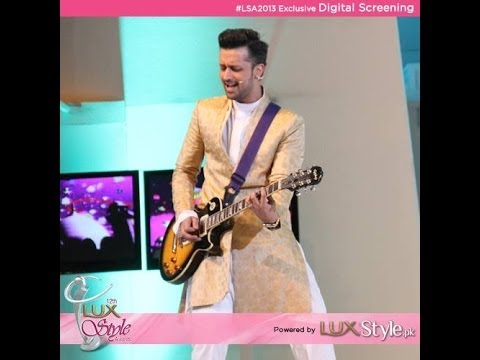 Atif Aslam Performs At 12th Lux Style Awards 2013 video