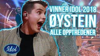 IDOL-VINNER 2018 Øystein Hegvik - Alle opptredener | Idol Norge 2018