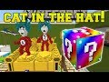Lagu Minecraft: CAT IN THE HAT HUNGER GAMES - Lucky Block Mod - Modded Mini-Game