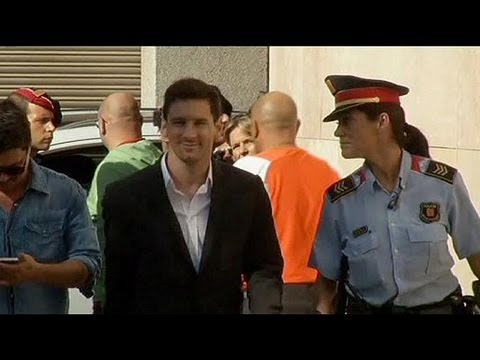 Messi goes to court in Barcelona in tax fraud investigation