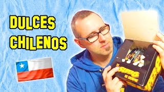 ✔ Probando Dulces Chilenos | Sweet testing Chileans