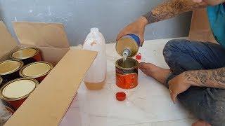 Cách pha sơn PU hệ mờ để sơn cửa gỗ