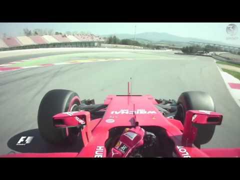 F1 2017 Onboard: Räikkönen Fastest Lap Of Testing